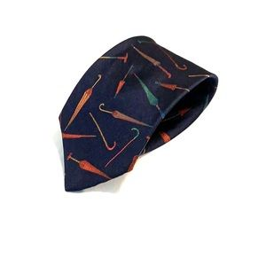 Paul Stuart Patterned Silk Tie NWOT